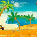 Jerry vožnja po plaži