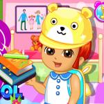 Dora se sprema za školu
