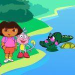 Dora i krokodili na jezeru