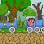 Dora vozi vlak