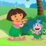 Dora i Čizma na pikniku