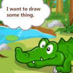 Dora se brine za bebu krokodila