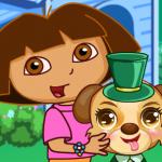Dora uređuje slatko štene