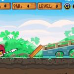 Ljute ptice golf igra