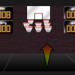 Pogodi koš košarkaškom loptom