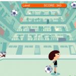 Zabij nogometnu loptu glavom