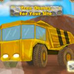 Kamion za prijevoz kamenja