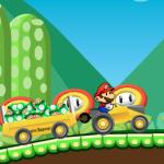 Super Mario vozi traktor 2