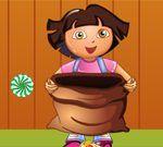 Dora hvata bombone