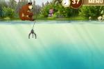 Maša i medo u ribolovu