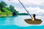 Pingvin u ribolovu