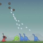 Dinosauri su meteori