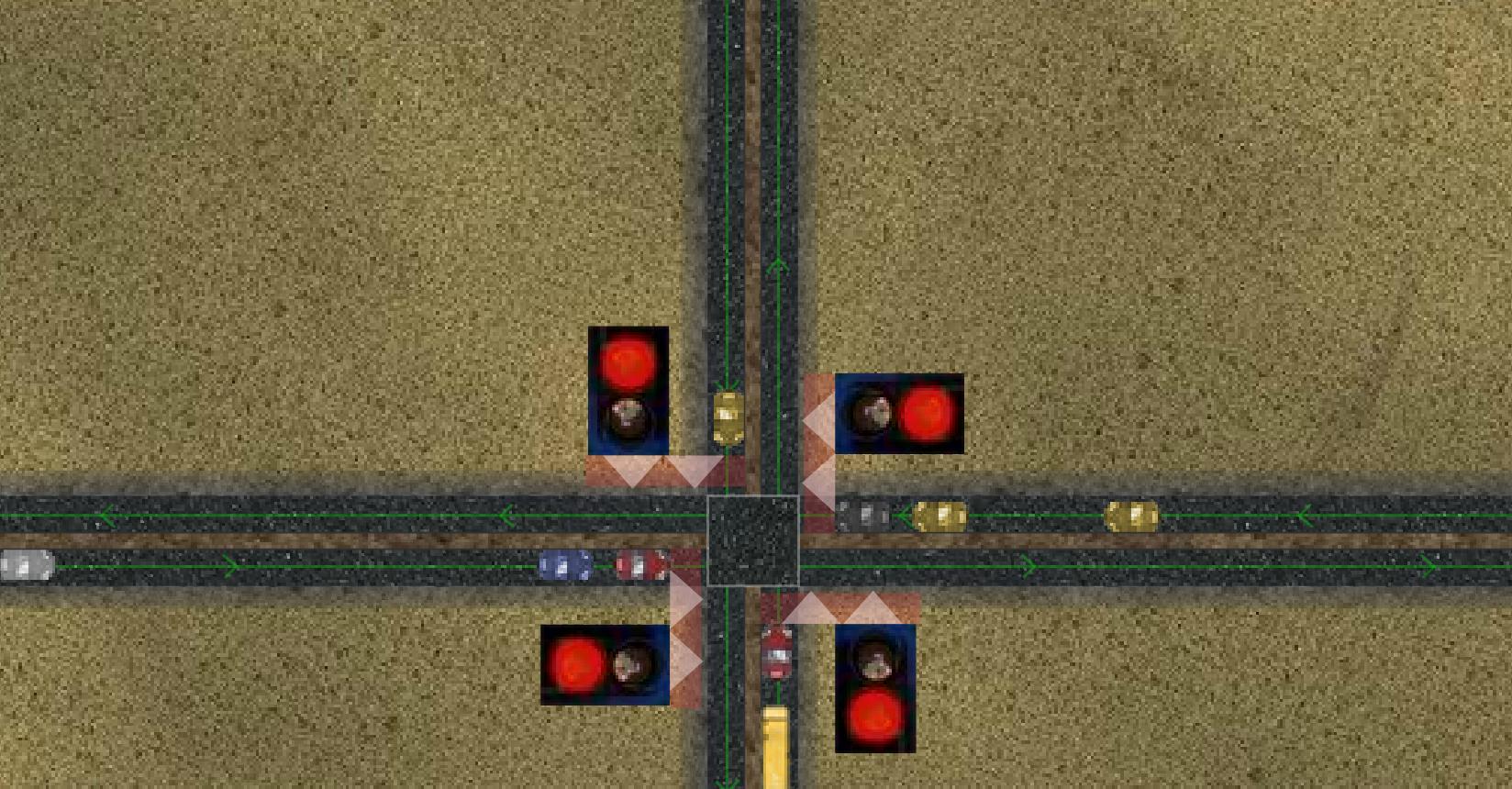 Kontrola semafora