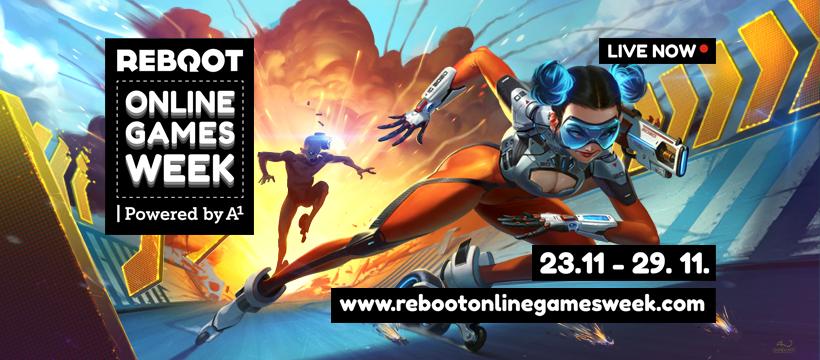 Reboot Online Games Week powered by A1