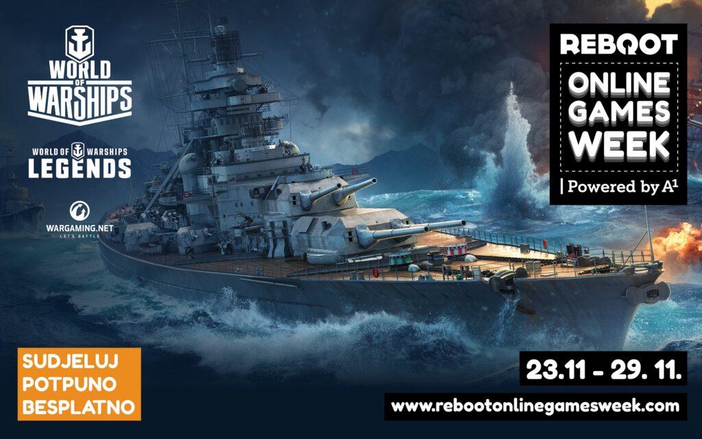 WARGAMING.NET, koji je na Reboot Online Games Weeku biti prisutan s legendarnim naslovom World of Warships te World of Warships: Legends.