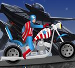 Satnik Amerika vožnja Harley