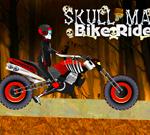 Lubanja čovjek vožnja biciklom