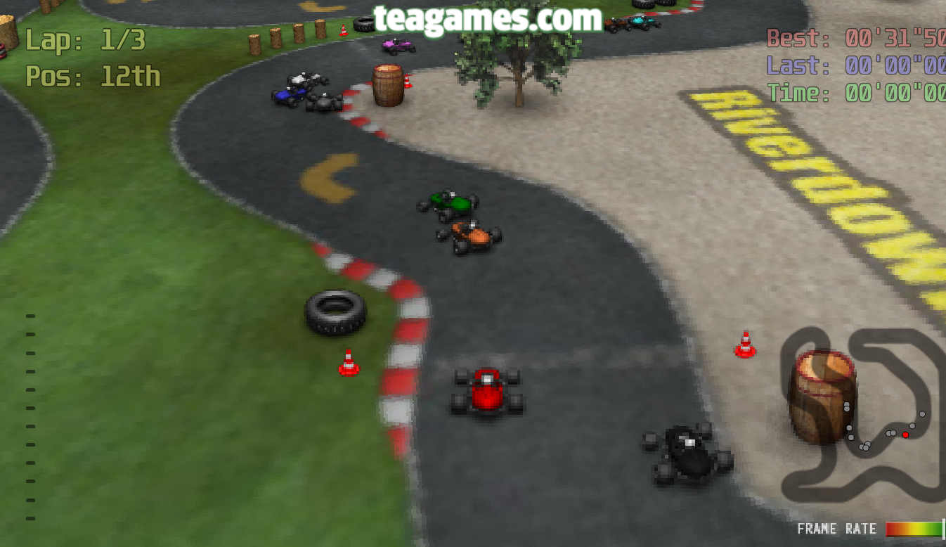 Image Crveni karting