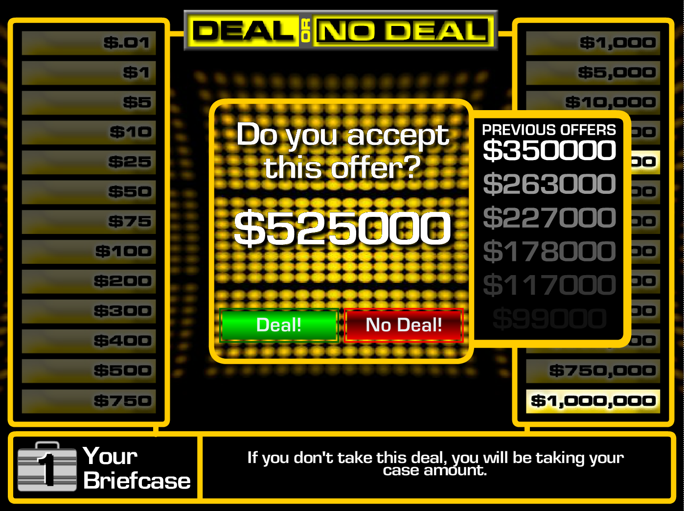 Image Deal - No deal
