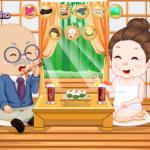 Djed i baka idu na suši