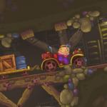 Kamion tegljač u rudniku
