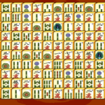 Mahjong puzle