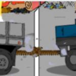 Rat između kamiona