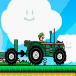 Super Mario traktor igra