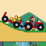 Super mario vozi traktor