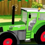 Super traktor parkiranje