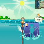 Tom i Jerry skijanje na vodi