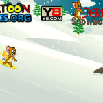 Tom i Jerry snowboard