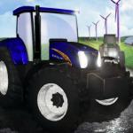 Traktor utrke na farmi