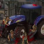 Zombi traktor 2