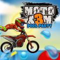 Moto X3M party na bazenu