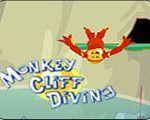 Monkey ronjenje s stijenama