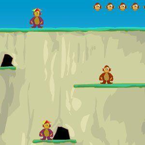 Image Monkey ronjenje s stijenama