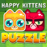 Sretan mačići puzzle