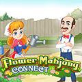 Cvijet Mahjong povezivanje