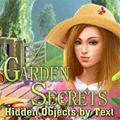 Vrt tajne skrivene objekte po tekstu