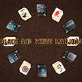 Mahjong crno-bijelo