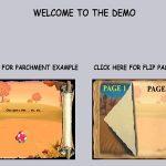 Rotor stranice za interaktivnu knjigu